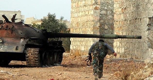 Muhalifler ile Esad güçleri çatıştı
