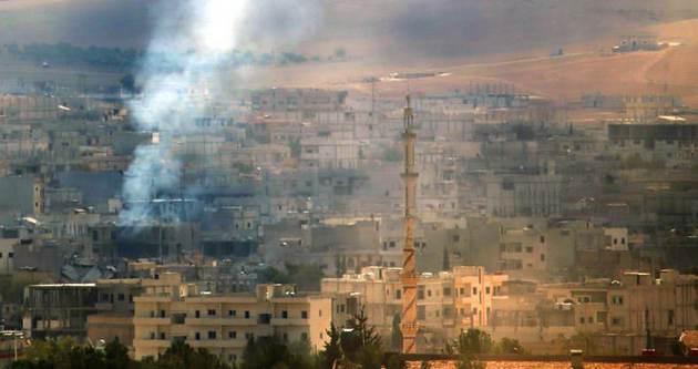 Savaş uçakları IŞİD mevzilerini bombalıyor