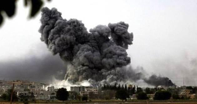 ABD Türkiye sınırını bombaladı!