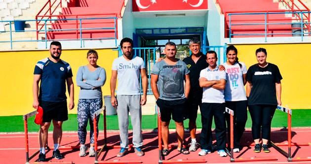Milliler Adana'da kamp yapıyor