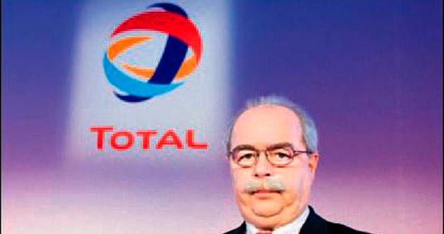 Total'in CEO'su uğurlandı
