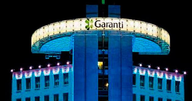 Garanti'nin aktif büyüklüğü 215 milyara çıktı