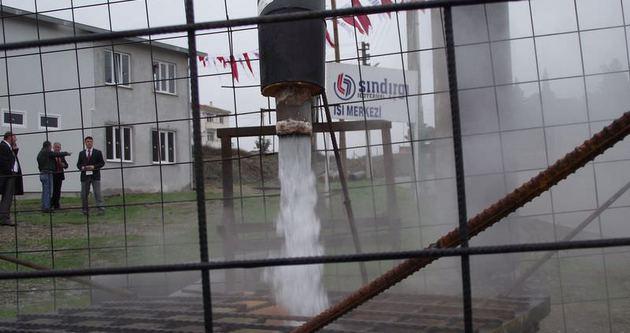 Termal suyla konut ve seralar ısıtılacak