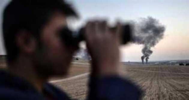 Kobani'de IŞİD hedeflerine bomba