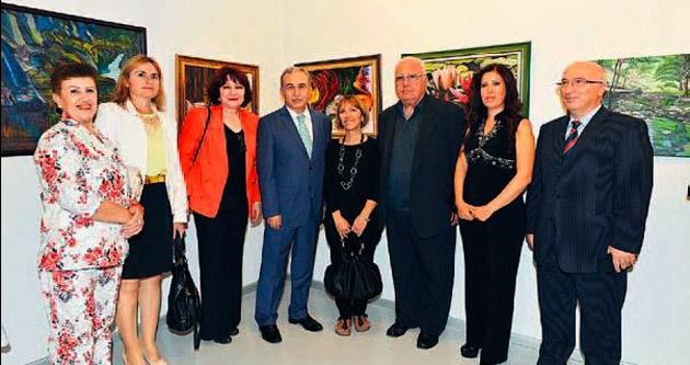 GESAM 25'inci yılını resim sergisiyle kutladı