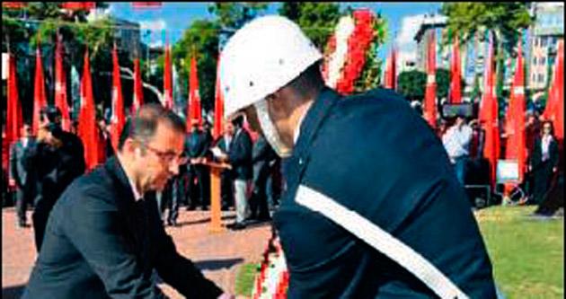 Antalya'da kutlamalar başladı