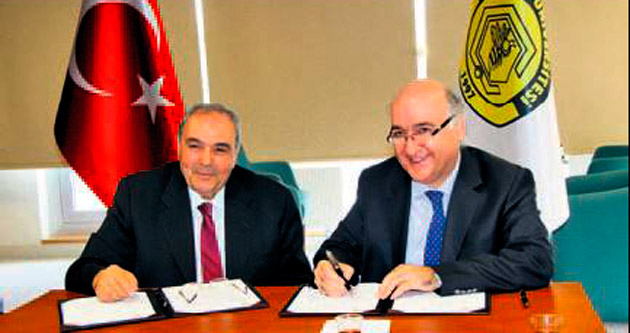İşbirliği protokolü için imzalar atıldı