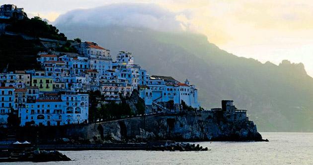 Güney İtalya Doğa ve insan el ele verince