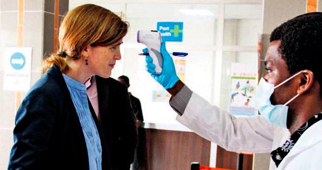 Seyahatte Ebola'ya dikkat