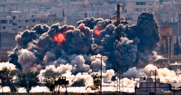 Koalisyon IŞİD'i bombaladı