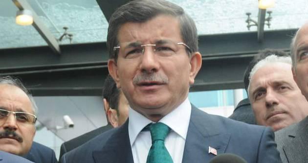 Başbakan Davutoğlu Karaman'a gitti