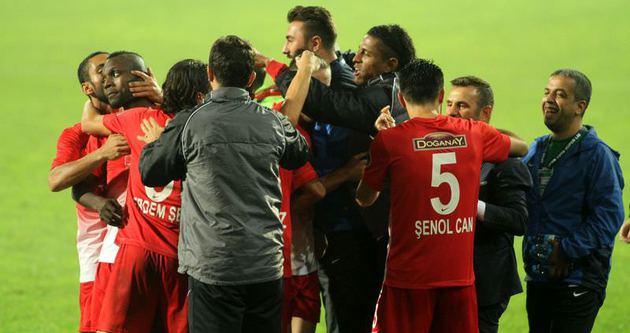 Çankırıspor - Gaziantepspor maçı A Haber'de