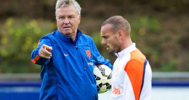 Sneijder aday kadroda