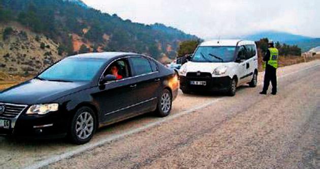Trafikte yerinde eğitime başlandı