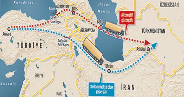 Türkler'e rest çeken İran 2015'te by-pass ediliyor