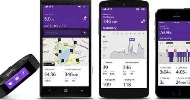 Microsoft akıllı bilekliğini tanıttı