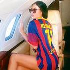Neymar'dan sevgilisi için özel jet