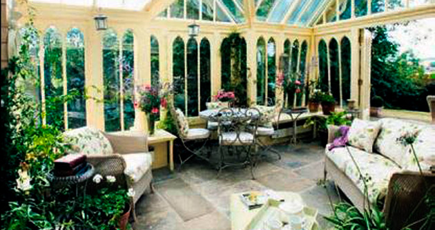 Kış bahçeleri 4 mevsim kullanılmaya başlandı