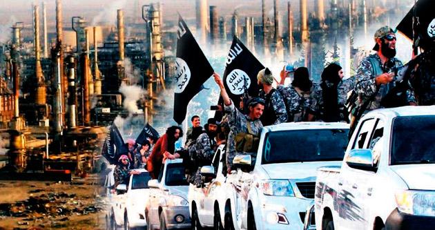 IŞİD petrolü Esad'a gidiyor