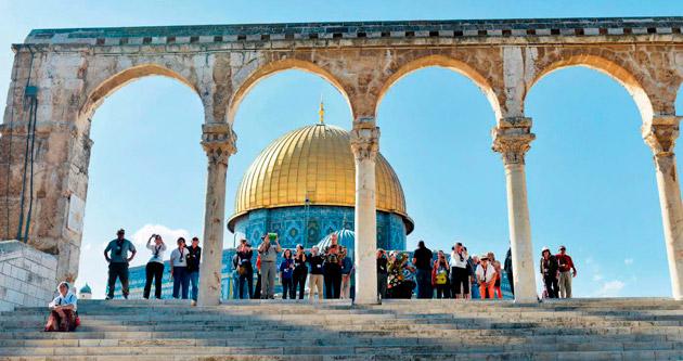 İsrail'in Mescid-i Aksa yasağını 'savaş' resti bitirdi