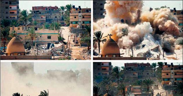 Mısır'dan, Gazze'ye tampon bölge