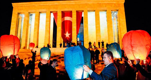 Cumhuriyet Bayramı'nda 232 bin 573 ziyaretçi