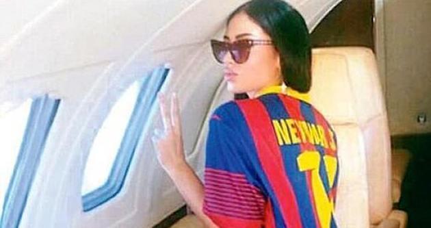 Neymar'dan Soraja Vucelic için özel jet