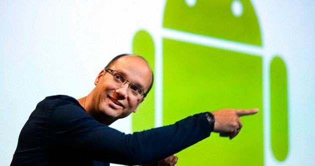 Android'in mimarı Andy Rubin Google'ı bıraktı