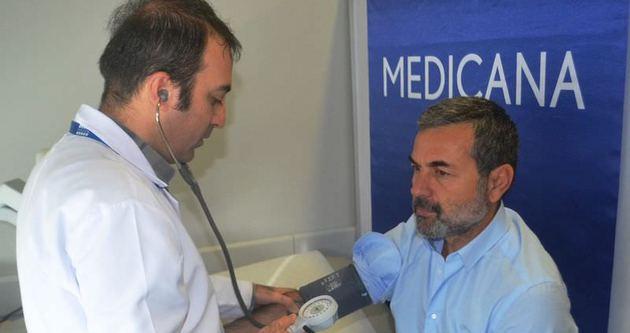 Aykut Kocaman, sağlık kontrolünden geçti.