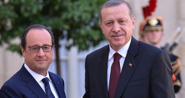 Erdoğan'dan Fransa'da önemli açıklamalar