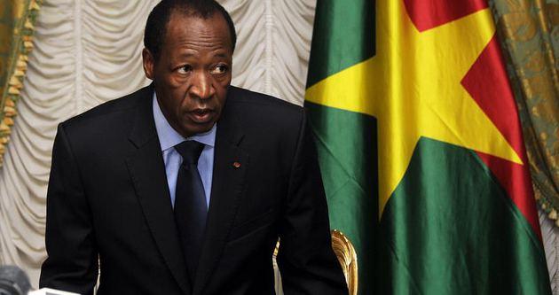 Burkina Faso Devlet Başkanı Compaore istifa etti