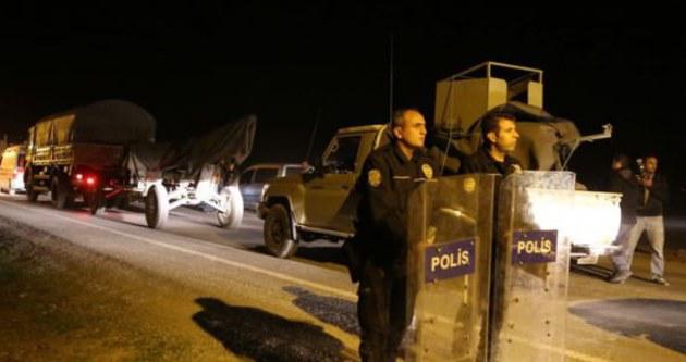 Peşmerge'nin Kobani'ye geçişi başladı