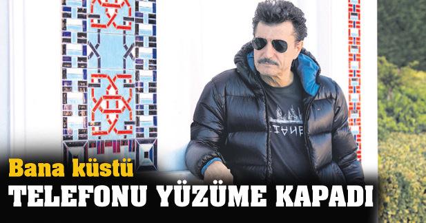 'STİNG BANA KÜSTÜ, TELEFONU YÜZÜME KAPADI'