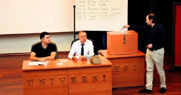 Mersin'de rektör adayları belirlendi