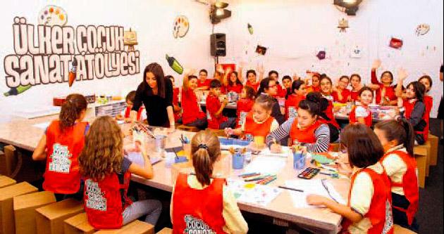 Çocuklar, sanat atölyesinde buluşacak