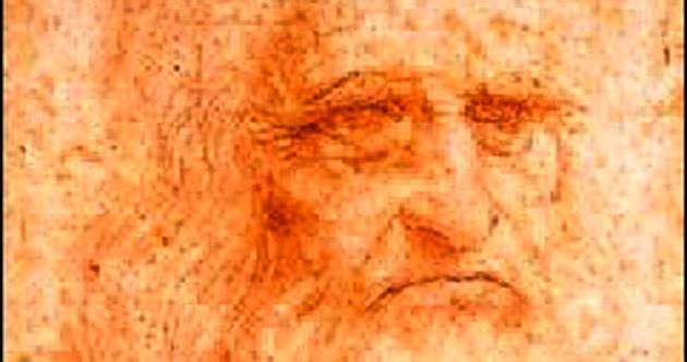 Da Vinci'nin tek portresi sergide..