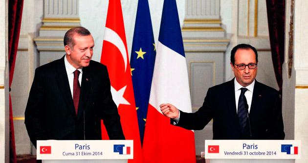 Ankara tezlerine Paris desteği