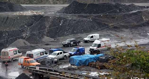 Bartın'da maden ocağında göçük