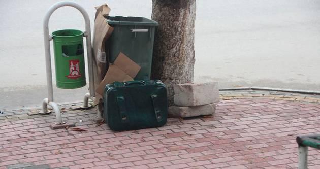 Bilecik'te şüpheli bavul