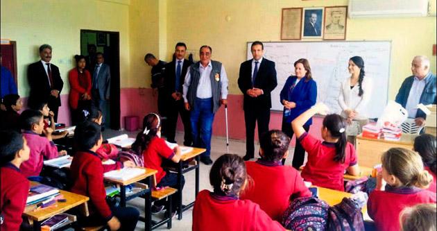 İmamoğlu ve Aladağ'da eğitime destek kampanyası