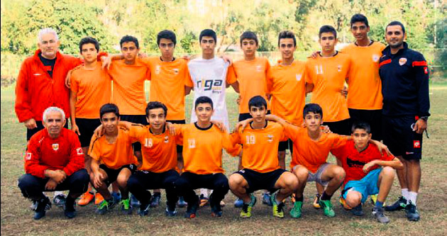 Adanaspor U 15 hedefi büyüttü