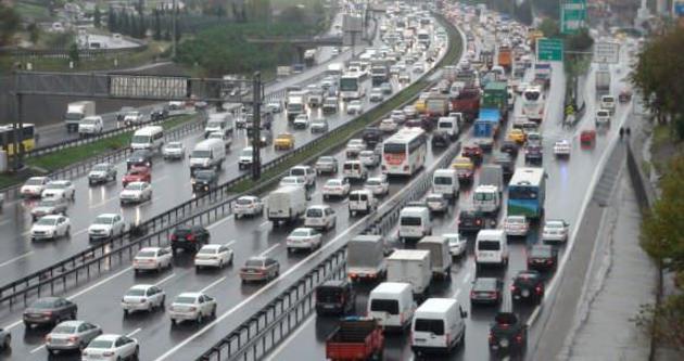 İşte İstanbul'da artan trafik çilesinin nedeni