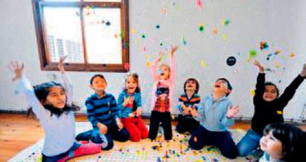 Çocuklar için tasarım sergisi