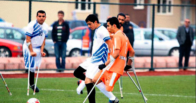 Engelliler Kayseri'den puan çıkardı