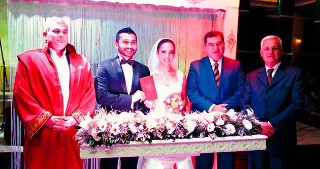 Vilayetler Evi'nde muhteşem düğün