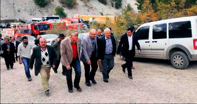 Başkan Kocamaz Ermenek'e gitti