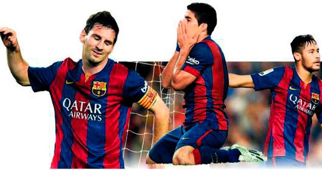 Barça'nın rüyası kabus oldu