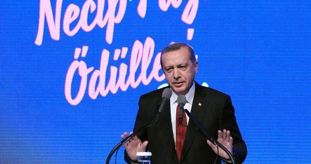 Erdoğan Necip Fazıl ile ilgili anısını anlattı