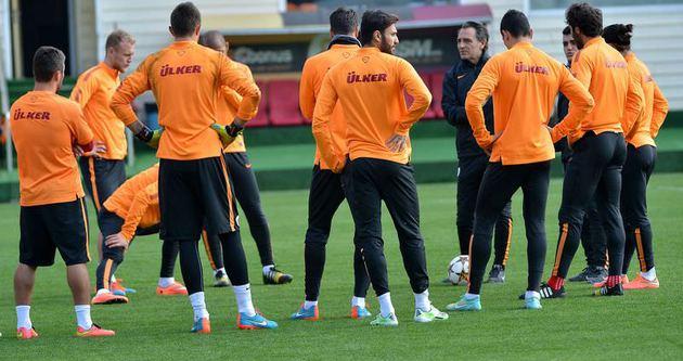 Galatasaray, Almanya'ya gitti