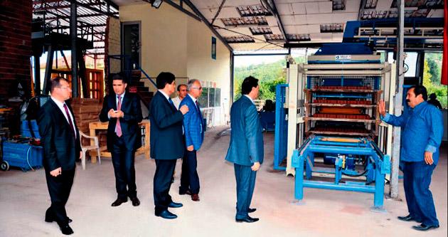 Kemer Belediyesi'nin taş fabrikasına ek ünite
